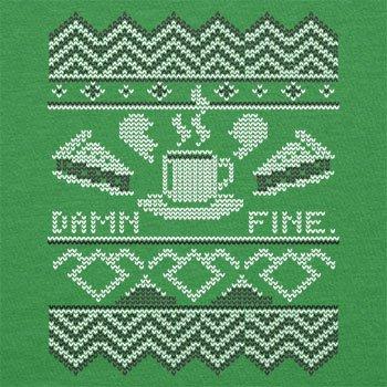 Texlab–damn fine Coffee–sacchetto di stoffa Verde