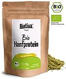 Hanfprotein Pulver (Bio, 1kg) - 100% Hanfproteinpulver - Höchste Bioqualität im 1000g Vorteilspack - erstklassige vegane Proteinquelle mit allen notwendigen essentiellen Aminosäuren - Rohkost-Qualität aus österreichischem Anbau - Frei von Gluten, Soja und Laktose - Abgefüllt und kontrolliert in Deutschland (DE-ÖKO-005)