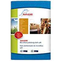 ALCLEAR 950026Z Microfibre Polishing Cloth, Blue, Size : 40 x 40 cm preiswert
