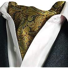 ROBO Hommes Echarpe En Soie Cravate Foulard Col De Chemise Echarpe D'affaires