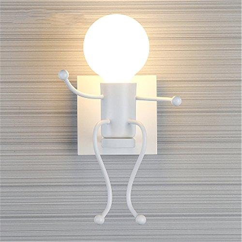 Lámparas de pared minimalista moderno salón dormitorio LED lámpara de mesilla dormitorios...
