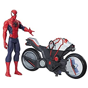Marvel Spiderman - Figura Spiderman, con vehículo (Hasbro B9767EU4) 5