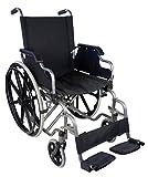 Rollstuhl aus Aluminium | Ultraleicht und mit Selbstantrieb | Faltbar und praktisch | Giralda Modell