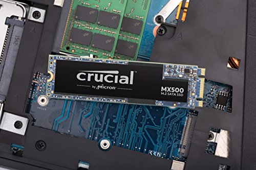Crucial MX500 CT1000MX500SSD4 1TB (3D NAND, SATA,...