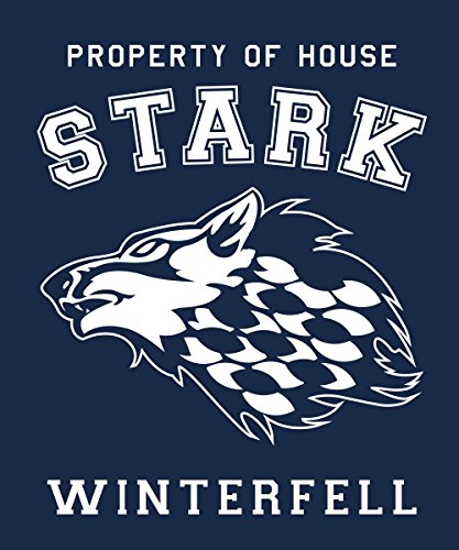 -- Property of House Stark -- Boys Kapuzenpullover Navy