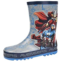Marvel Avengers Boys Rubber Wellington Boots