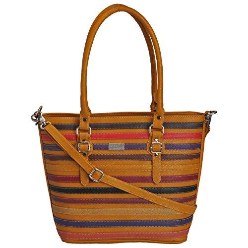Faux Leather Designer Handbag