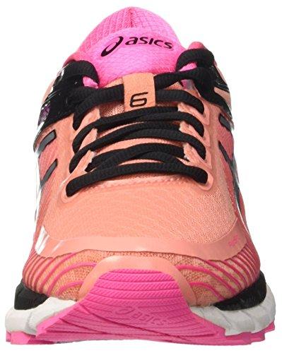 Asics Gel-kinsei 6, Gymnastique femme Rosa (Peach Melba/Silver/Pink Glow)