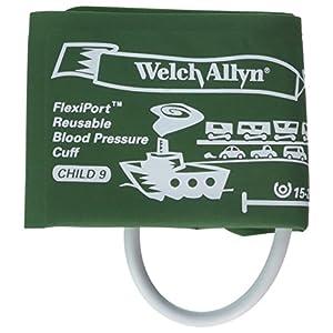 Welch Allyn reuse-09-1SC Flexi Port Blutdruckmanschette, Kind, wiederverwendbar 1, Schlauch, Stecker Schraube Anschluss, Größe 09