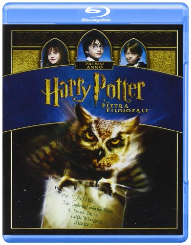 Harry Potter e la pietra filosofale (+copia digitale) [Blu-ray] [IT Import]