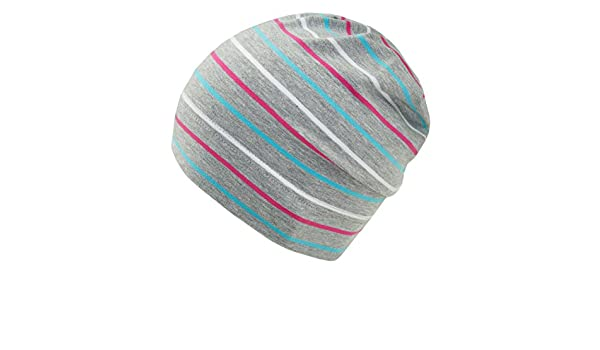 EveryHead Fiebig Bonnet De Fille D Été Jersey Calotte Cap Été Hat Chapeau  Coton Strié Pour Enfants (FI-87051-S17-MA1) incl Hutfibel  Amazon.fr   Vêtements et ... 995b244ab27