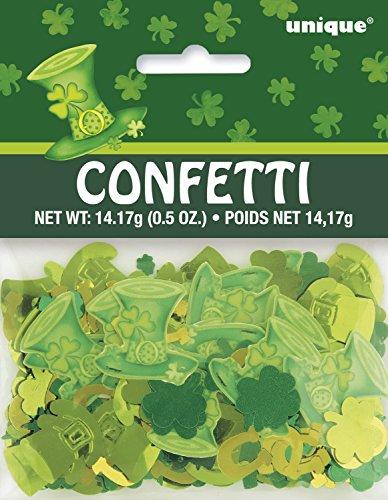 Unique Party Supplies Lucky Streifen St. Patrick 's Day Konfetti (Party Patrick S St Day)