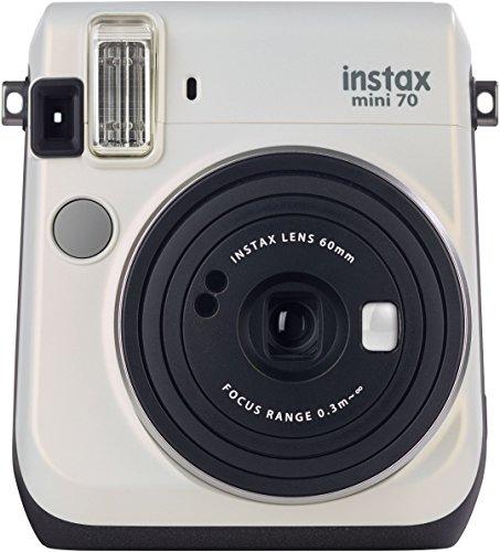 Galleria fotografica Fujifilm Instax Mini 70 Moon White Fotocamera Istantanea per Stampe Formato 62x46 mm, Bianco