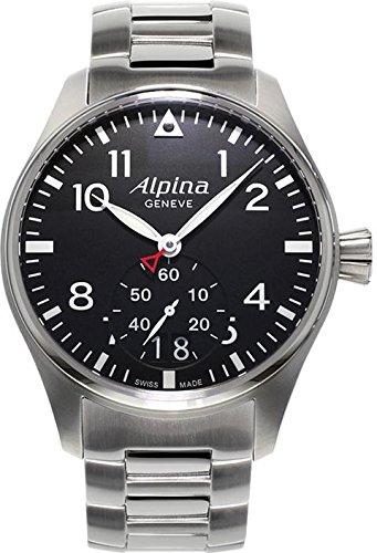 Alpina Startimer Pilot Herren-Armbanduhr 44mm Batterie AL-280B4S6B