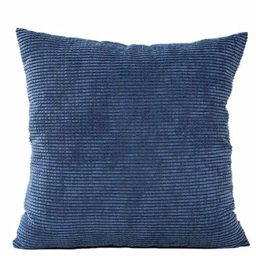LuckyGirls Taie d'oreiller Canapé Housse de Coussin de Taille à la Maison Decor (Bleu)