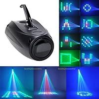 UKing Etapa Lámpara 20 W RGBW 64 Led Proyector de Imagen Pequeña Luces del Dirigible Control de Voz Efecto de Iluminación para Fiesta de Aniversario Disco DJ