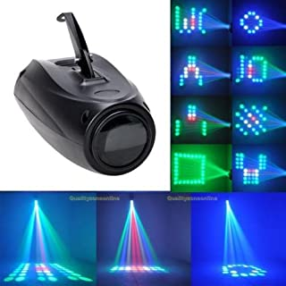 U`King 12W RGBW Partylicht Lichteffekt Akustisch Gesteuerte Stadiums Licht Sprachaktivierte Stage Discolicht mit 64LEDs für Discos,Clubs,Pubs,Bars,Bankette,Hochzeiten,Familienfeiern und Weihnachten.
