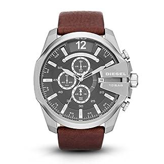 Diesel Mega Chief Analog Grey Dial Men's Watch – DZ4290