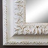 Online Galerie Bingold Spiegel Wandspiegel Badspiegel Flurspiegel Garderobenspiegel - Über 200 Größen - Rom Weiß 6,5 - Außenmaß des Spiegels 10 x 10 - Wunschmaße auf Anfrage - Antik, Barock