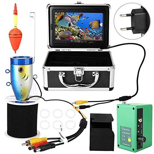 Xinwoer Infrarot Fischfinder Unterwasser DVR Kamera Angeln Monitor, See und Boot Angeln(EU (100-240v)) (Angeln-leuchten Für Boote)