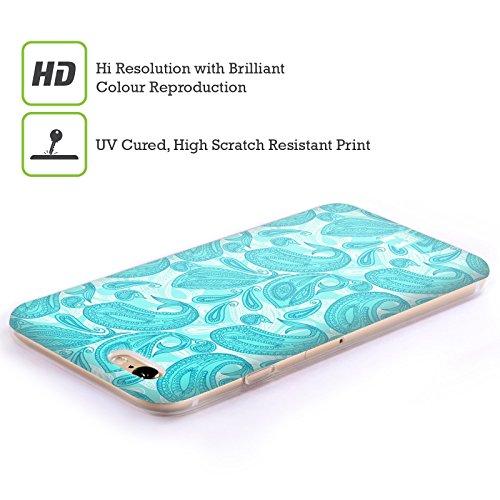 Head Case Designs Canada Animaux Patriotiques Étui Coque En Soft Gel Apple iPhone 5c Baleine Turquoise