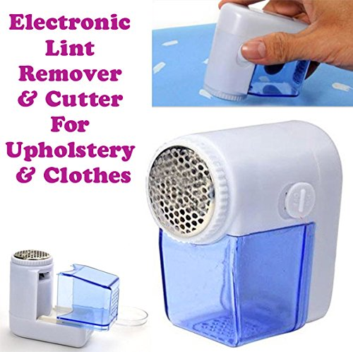 Gadget Hero's Portable Electric Fuzz Pill Lint Remover Shaver Cutter For Fabric & Clothes