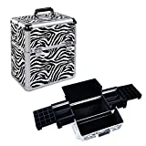 HST Multifunctional Zebra Make Up Cosmetics Box Best Review Guide