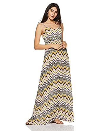 224ddc3c1235fb ONLY Women s Empire Maxi Dress  Amazon.in  Clothing   Accessories