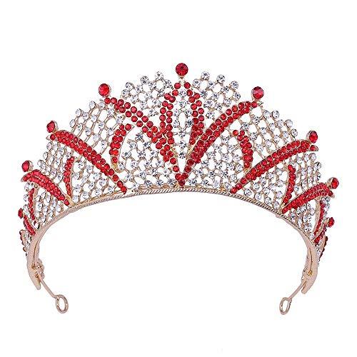 TaoggHG Braut Krone Legierung Diamant Große Krone Krone Krone Krone Krone Hochzeit Zubehör pro - Juwel Auf Krone Der