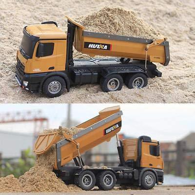 RC Auto kaufen Baufahrzeug Bild 4: s-idee® S1573 Rc Dump Truck 1:14 LKW 10 Kanal Kipplader Huina 1573*