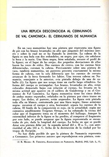 Una replica desconocida al Cernunnos de Val Camonica: el Cernunnos de numancia.