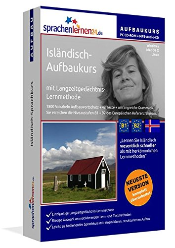 Isländisch-Aufbaukurs: Lernstufen B1+B2. Lernsoftware auf CD-ROM + MP3-Audio-CD für Windows/Linux/Mac OS X. Fließend Isländisch lernen für Fortgeschrittene mit Langzeitgedächtnis-Lernmethode