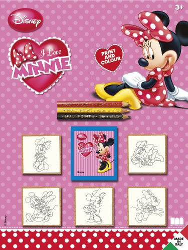 Multiprint 5866 Blister con 5 Timbrini Minnie
