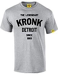 La légendaire kronk Detroit depuis '69pour homme en coton à manches courtes pour femme Coupe normale