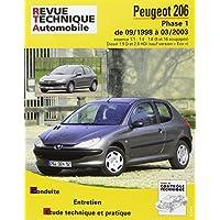 Revue Technique 103.2 206 Phase 1 Essence/Diesel 09/98 a 03/03