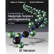 Fundamentals of Materials Science and Engineering (International Student Edition) by William D. Callister (2012-08-07)