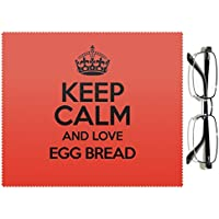 RED Keep Calm and Love Egg pane 2437 colore lenti