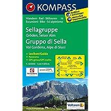 SELLAGRUPPE/GRODEN/SEISERALM 59 1/50.000