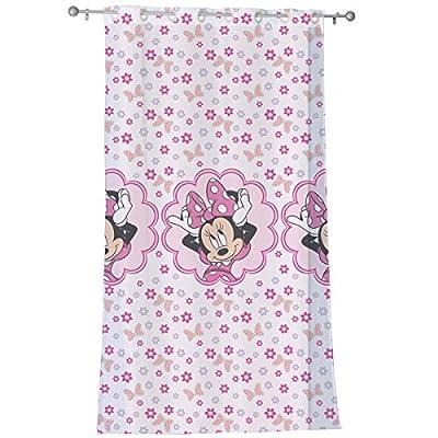 Disney Minnie Fertig-Gardine für Kinderzimmer, 140 x 240 cm