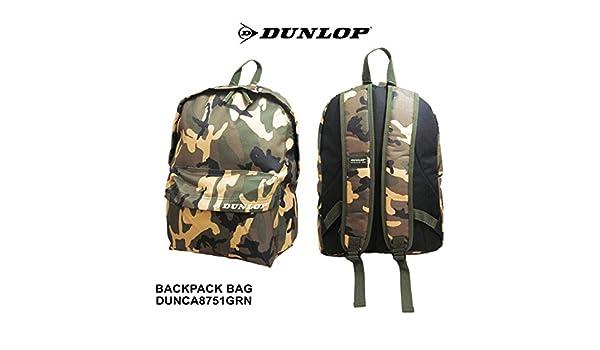 dunlop green school bag