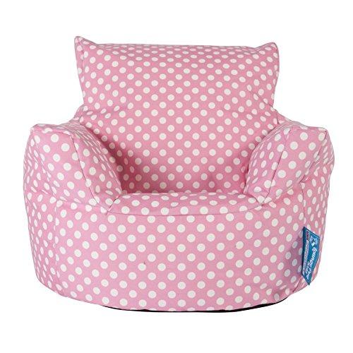 Lounge Pug®, Puff Sillón para niños, Estampado para Niños - Rosa