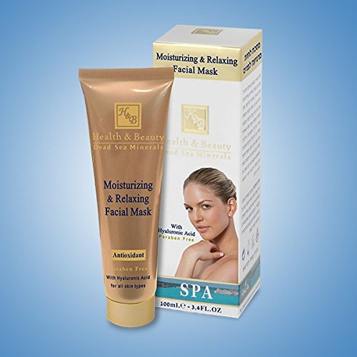 H&B Dead Sea Moisturizing & Relaxing Facial Mask with Hyaluronic Acid & Collagen 100ml/3.4 fl.oz
