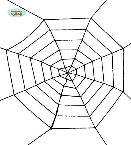 arzes Spinnennetz Halloween Spinne Netz Deko Horror Spinnen 100cm ()