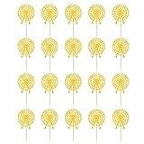 Blesiya 20pcs Cupcake Topper Picks Set - Riesenrad