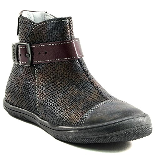 Boots fille - BELLAMY - Gris - Millim Marron