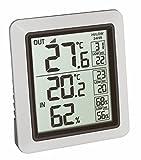 TFA Dostmann 30.3065.02 Info Funk-Thermometer inkl. Außensender (weiß mit Batterien)