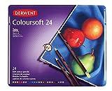 Derwent Coloursoft Buntstifte, 24Stück