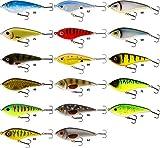 Westin Swim Suspending 10cm 32g - Jerkbait zum Spinnfischen, Wobbler zum Jerkbaitangeln, Hechtköder, Jerkköder zum Spinnangeln, Farbe:Toxic Mahi