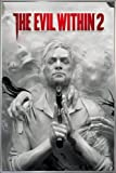 Close Up The Evil Within 2 Poster Key Art (93x62 cm) gerahmt in: Rahmen Silber