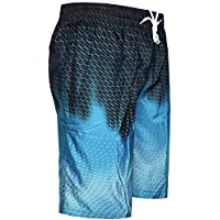 Resi-dent Evil Mens Swim Trunks Summer Quick Dry Board Shorts with Mesh Lining//Side Pockets